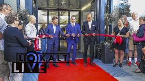 invigninen av Grankulla köpcenter 17.5.2018.