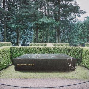 Minnesten för president Mauno Koivistos grav
