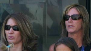 År 2005 sågs Steffi Graf och Chris Evert på samma läktare i samband med US Open.