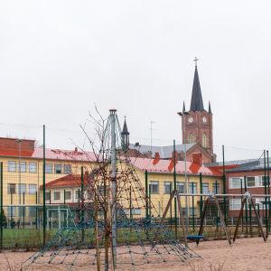 bild på n lekpark