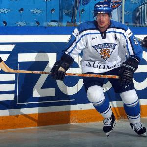 Teemu Selänne spelade för Lejonen i Kanada Cup 1991 och gjorde bland annat ett sent segermål mot Tjeckoslovakien.