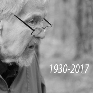 En svartvit bild av Paul von Martens i profil. På bilden årtalen 1930 och 2017.