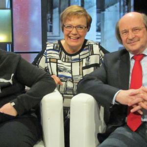 Iris Särssi, Hilla Blomberg, Pekka Särssi