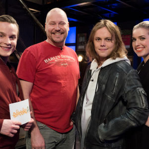 Kuvassa Valtteri Lehtinen, Janne Virtanen, Antti Väre ja Thelma Siberg.