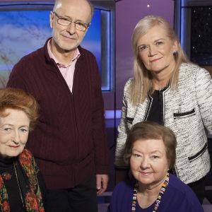 Aiju von Schöneman selvisi perheväkivallasta ja herää jokaiseen päivään kiitollisena. Anne Flinkkilän vieraina myös geriatrian professori Jaakko Valvanne ja sosiaalineuvos Sirkka Merikoski.