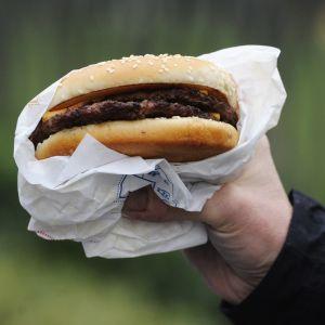 Hamburgare från Burger King.