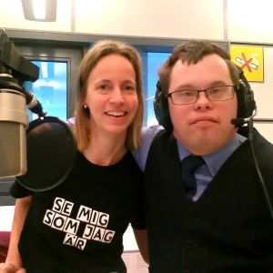 Tina Holms på FDUV och Jonas Jansson