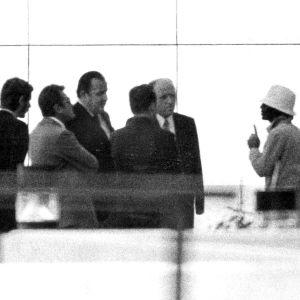 Svart september-terrorist förhandlar med tyska politiker.