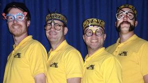 Vier Brillen, humorgrupp från Göteborg
