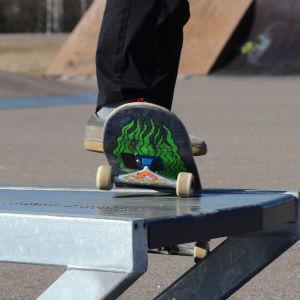 Skateramp i Kokon.