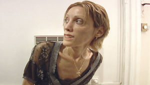Isabelle Caro - anorexins ansikte
