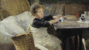 Helene Schjerfbeck: Konvalescenten (1888)