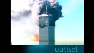 Terrori-isku New Yorkin World Trade Centeriin (2001).