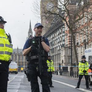 London efter terrorattacken i mars