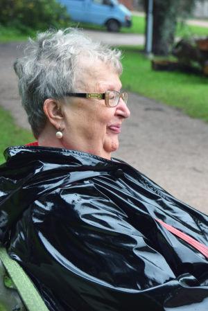 Författaren Ann-Mari Lindberg.