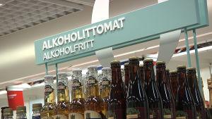 Alkoholfria drycker.