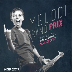 affisch för MGP 2017