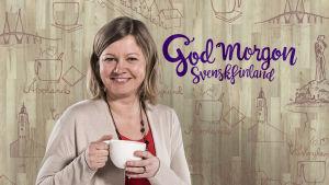 Marie Söderman, programvärd vid Yle Åboland.