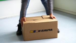 K-Rauta muuttolaatikko