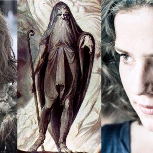 Bran från Game of Thrones, Teiresias från 1700-talsteckning, Anita från Lola uppochner