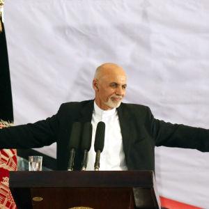 Afghanistans president Ashraf Ghani.