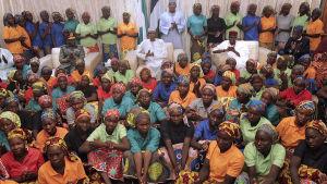 Boko Haram frigav i fjol 82 av de 267 flickor som kidnappades i staden Chibok år 2014