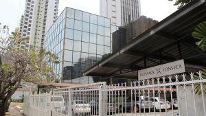 Mossack Fonsecas byggnad i Panama City 2016.