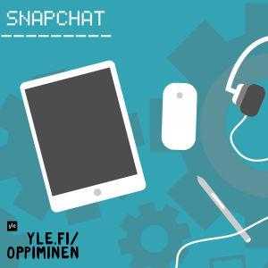 Snapchat-artikkelin kuvituskuva