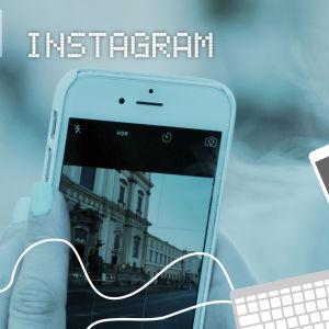 Digitreenien pääkuva, teksti Instagram.