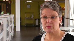 Camilla Grundström i Axxell.