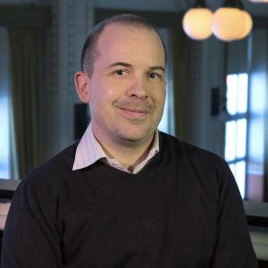 Tutkija Samu Nyström.