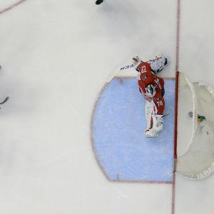 Toronto mot Washington i NHL.