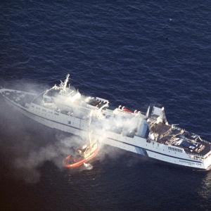 159 dog i brand på Scandinavian Star år 1990