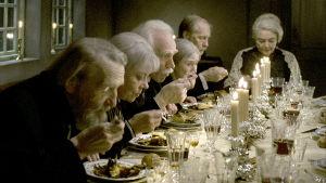 Ranskalainen illallinen, ohjaus Gabriel Axel.