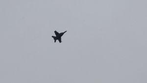 Turkiskt stridsflyg i syrien