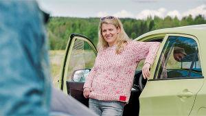 Korpelan kujanjuoksun naispääroolin esittäjä Karoliina Vanne