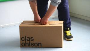 Clas Ohlson muuttolaatikko
