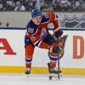 Jesse Puljujärvi från Edmonton Oilers hösten 2016.