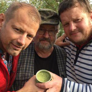 Matias och Micke träffar Holger Nyström.
