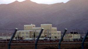 En urananrikningsanläggning i Iran