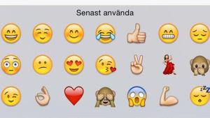 Emoji, pernilla