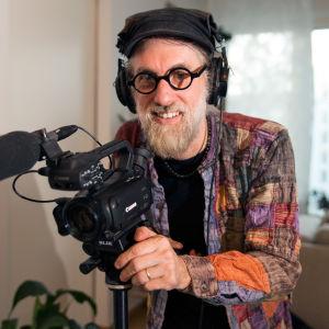 Youtubern Matthew Dorman i Helsingfors.