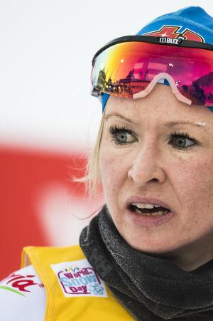Riitta-Liisa Roponen missar VM.