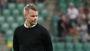 Peter Lundberg är tränare i IFK Mariehamn,