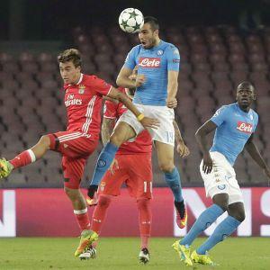 Benfica mot Napoli