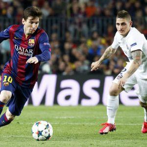 Lionel Messi och Marco Verratti möts i Champions League.