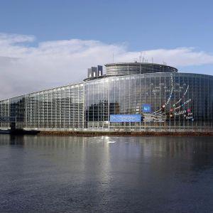 Europaparlamentet i Strasbourg