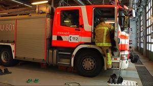 Brandstationen i Ekenäs.