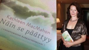 Irlantilaiskirjailija Kathleen MacMahon ja esikoisromaani Näin se päättyy