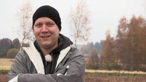 Jussi Nieminen (Menneisyyden metsästäjät) lähikuvassa
